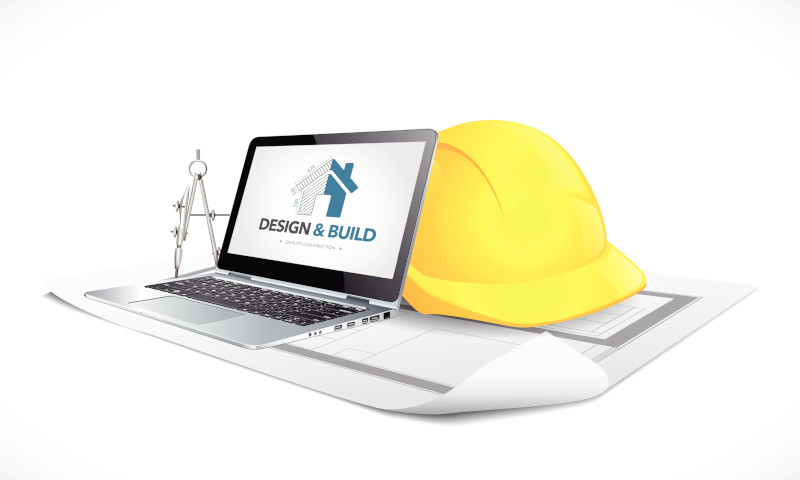 Icon for Design and Build services, DGG services to architect and build your software.